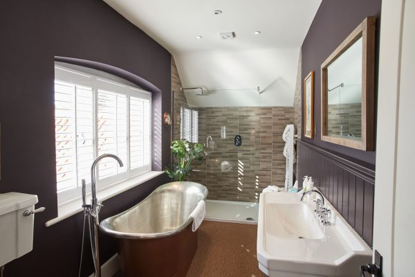Beautiful hotel bathroom Thornham Norfolk