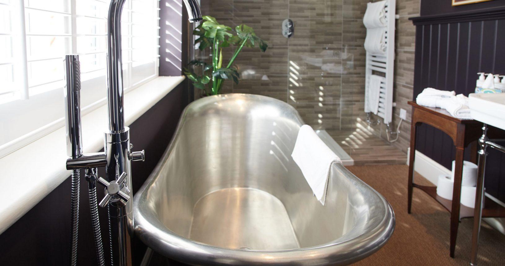 Copper Bath at Anna's Thornham Hotel