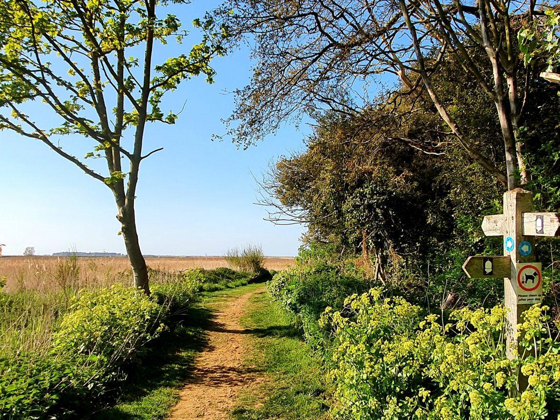 Thornham Village Walks Norfolk - Annas Walk
