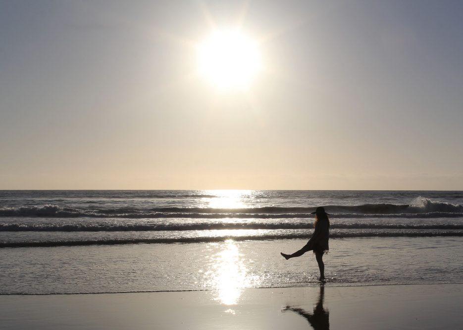 Birthday Beach Norfolk Coast