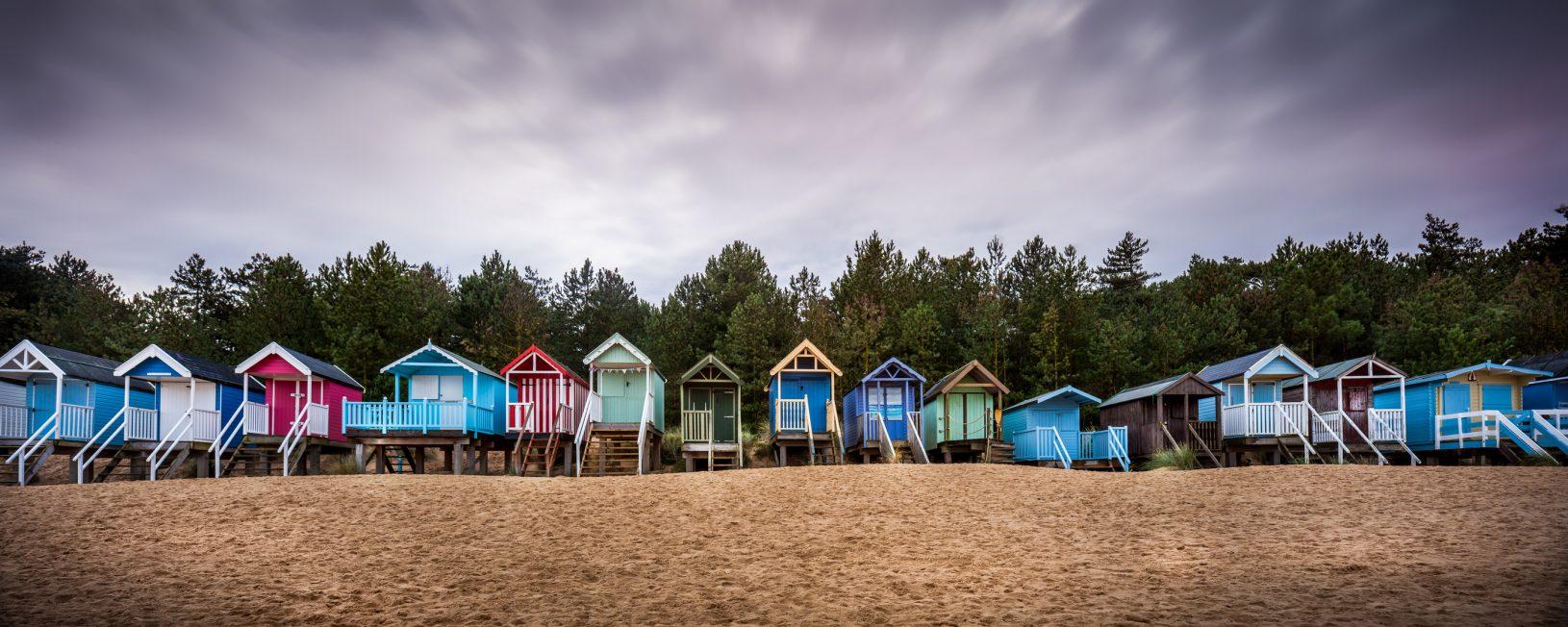 Beach Huts on the Norfolk Coast